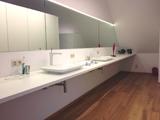 Inbouwkasten in badkamer